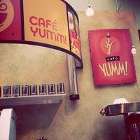 Photo taken at Café Yumm! by Mandy B. on 4/18/2013