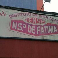 Photo taken at Escola Nossa Sra De Fatima by Patricia S. on 8/5/2013