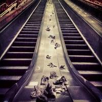 Photo taken at MBTA Porter Square Station by Charlene C. on 3/13/2013