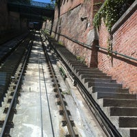 Photo taken at Buda Castle Hill Funicular by Csuthi A. on 6/19/2013