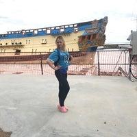 Снимок сделан в Историческая верфь «Полтава» пользователем Katerina 👸 6/13/2018