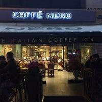 Photo taken at Caffé Nero by Yalçın Ç. on 12/7/2015