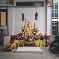 Photo taken at วัดโพธิ์พุฒตาล by Winchai N. on 7/5/2015