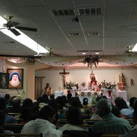 Photo taken at St. Alphonsa Syro-Malabar Catholic Church by Simy R. on 1/19/2013