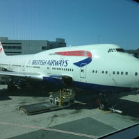 Photo taken at British Airways Terraces Lounge by Simy R. on 4/24/2013