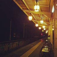Photo taken at Hankyu Arashiyama Station (HK98) by uetty on 7/29/2013