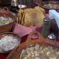 Photo taken at Pozole Estilo Guerrero by ztep z. on 2/22/2013