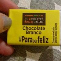 Photo taken at Chocolates Brasil Cacau by Camille B. on 5/21/2016