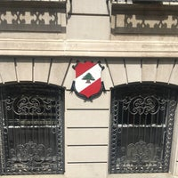 Photo taken at Consulate General Of Lebanon by Alan M. on 6/29/2017
