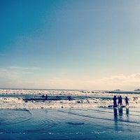 Photo taken at Baler Beach by Jayd R. on 10/27/2012
