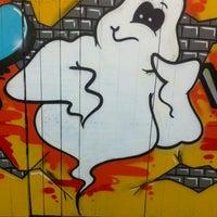 Photo taken at Graffiti Wand by Maríus M. on 4/16/2013
