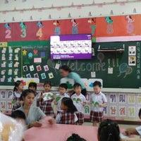 Photo taken at Sarasas Witaed Suksa School by NooNan M. on 8/5/2015