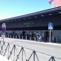 Photo taken at Terminal 2 by Joaquín D. on 4/17/2013