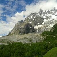 Das Foto wurde bei Traforo Monte Bianco [T1] - Piazzale Sud von Andrea C. am 6/5/2016 aufgenommen