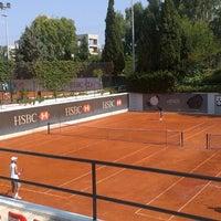Photo taken at Filothei Tennis Club by Dionisia...🎀 on 8/25/2013