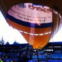 Photo taken at Stadio Tommaso Fattori by Massimo P. on 10/12/2014