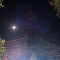 Photo taken at Kasr El Dobara Evangelican Church by Mina A. on 2/26/2014