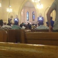 Photo taken at Kasr El Dobara Evangelican Church by Mina A. on 7/24/2014