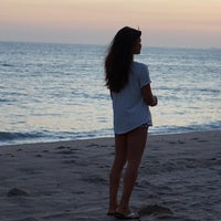 Photo taken at Pacific Palisades Beach by Doralys B. on 9/10/2015