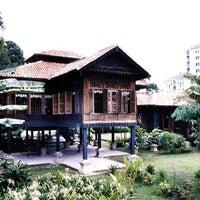 Photo taken at Rumah Penghulu Abu Seman by Rafal W. on 12/25/2014