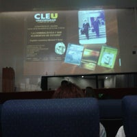 Photo taken at CLEU D.F. Dos by Itzel M. on 11/28/2013