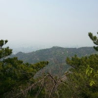 Photo taken at 아자산생태공원 Achasan Ecological Park by Buster M. on 5/4/2013