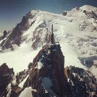 Photo taken at L'Aiguille du Midi (3842m) by Patrik S. on 7/5/2013