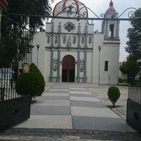 Photo taken at San Mateo Huitzilzingo by Jose Luis N. on 11/8/2014