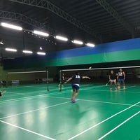 Photo taken at Champion Badminton Court by Marc R. on 1/22/2017