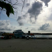Photo taken at Miladhoo Harbour by M.I O. on 5/21/2014