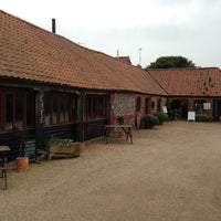 Photo taken at Great Walsingham Barns Cafe by Jonathan W. on 6/20/2013