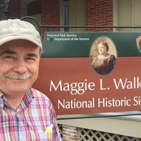 Photo taken at Maggie L Walker National Historic Site by Chris S. on 8/5/2016