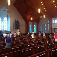 Photo taken at Blessed Sacrament by Chris S. on 7/30/2014