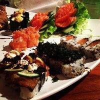 Photo taken at Hanbai Sushi Bar by Rodrigo O. on 8/2/2013