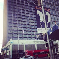 Photo taken at The Sydney Boulevard Hotel by Big M T. on 5/7/2013