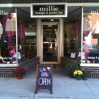 Photo taken at Millie by On A Roll on 11/28/2013