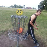 Photo taken at The Oaks Disc Golf Course by Mitchell L. on 9/1/2013