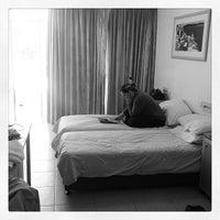 Photo taken at Bnei Dan Hostel by Chris W. on 3/28/2014