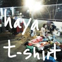 Photo taken at hayaT-shirt by ARM S on 4/9/2013