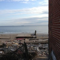 Photo taken at Sea Gate Beach by Albert S. on 4/15/2013