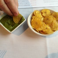 Photo taken at Mango Peruvian Cuisine by Albert S. on 3/17/2013