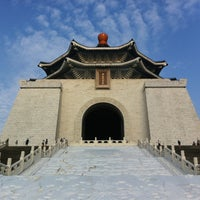 Photo taken at Chiang Kai-Shek Memorial Hall by Kanata T. on 6/16/2013