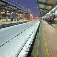 Photo taken at Stazione Mariano Comense by Simone B. on 2/12/2013
