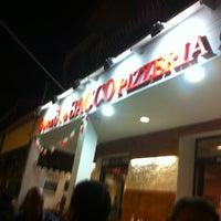 Photo taken at Osteria Di Bacco Pizzeria by Naila K. on 8/24/2013