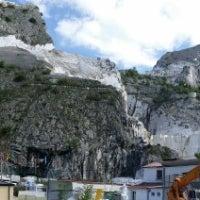 Photo taken at Cava Di Carrara, Carrara Toscane by Ju H. on 5/4/2014