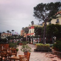 Photo taken at Europa Palace Grand Hotel Sorrento by Alex M. on 11/29/2014