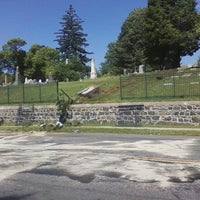 Photo taken at Moravian Cemetery by Röb on 6/16/2014