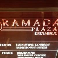 Photo taken at Ramada Plaza İstanbul City Center by Deniz Ö. on 5/8/2013