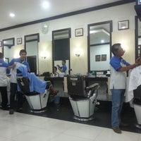 Photo taken at Paxi Barbershop by Raya F. on 11/17/2012