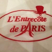 Photo taken at L'Entrecôte de Paris by Talal A. on 1/16/2013